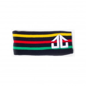 Stripey Headband Rasta3