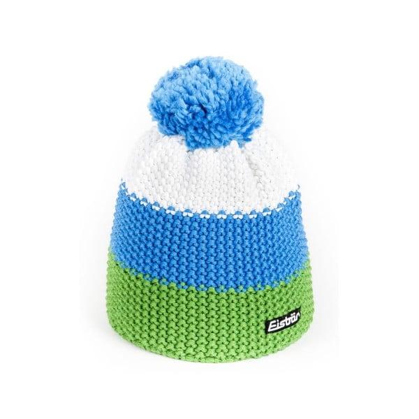 eisbar bonnet pompon star vert bleu