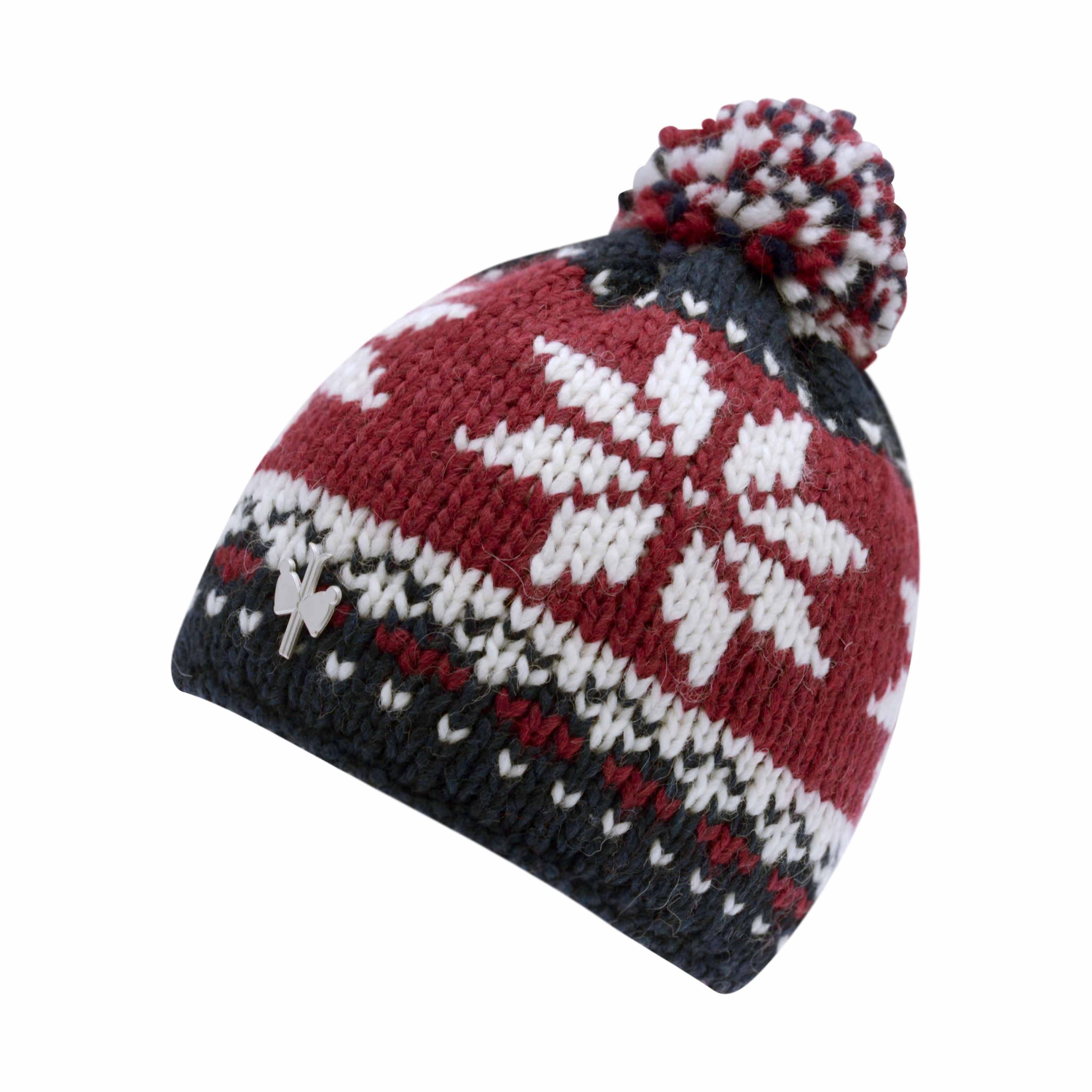 a87d513e4249 Bonnet jacquard casquette laine   Rlobato
