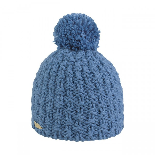 bonnet pompon denim