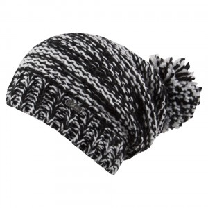 bonnet long pompon
