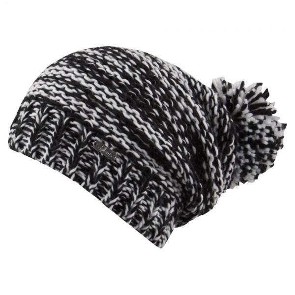 bonnet long pompon