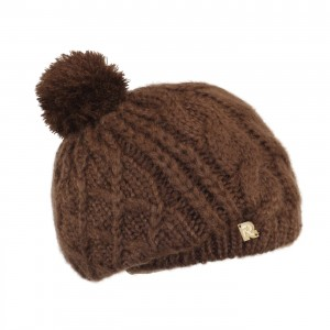 beret pompon COLD-3100 marron