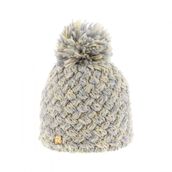 chiné bonnet pompon
