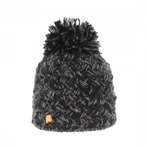 bonnet heather pompon
