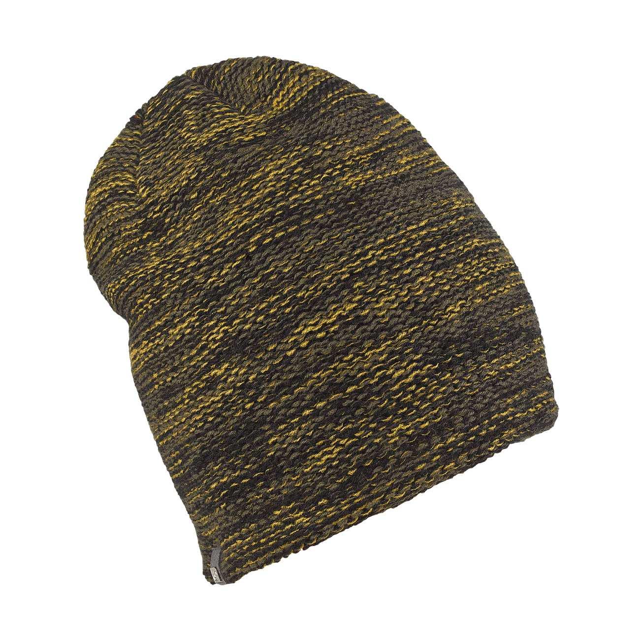 Black Elegant Oversized Beanie - Long Hat 96409e65d77