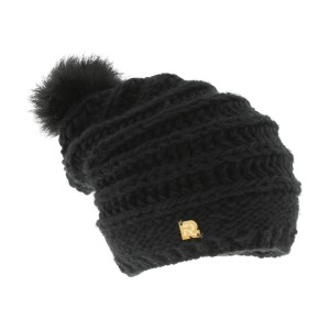 long beanie fake fur