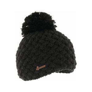 bonnet pompon Herman JUSTIN-8100-NOIR