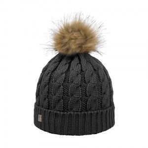 bonnet pompon eco racoon