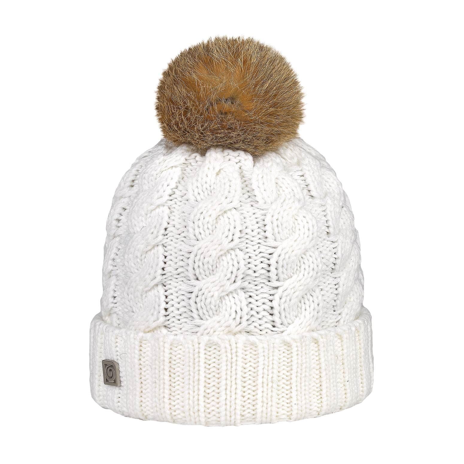 Cream Rabbit Pom Pom Hat 9d71b46752d