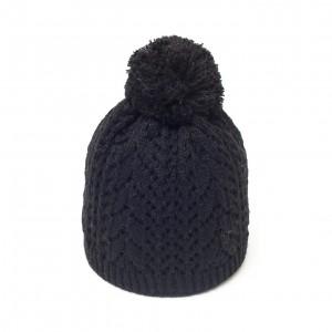 bonnet pompon c3 noir