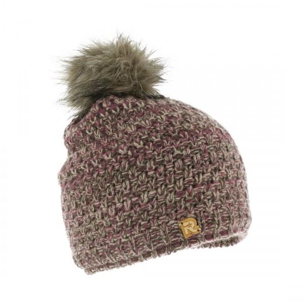 bonnet pompon fourrure Cold 4112 beige Herman