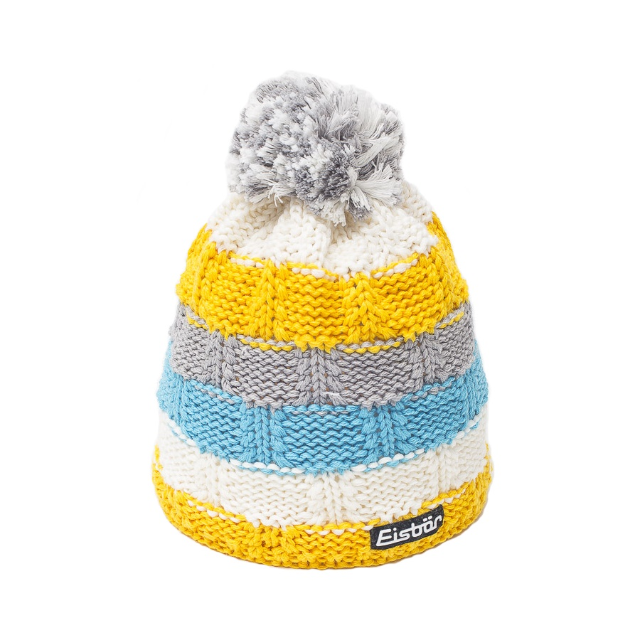 Hedi Yellow Pompom Hat