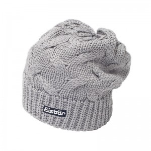 eisbar bonnet long albina grey 2