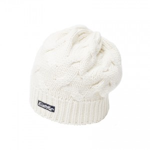 eisbar bonnet long albina white 2