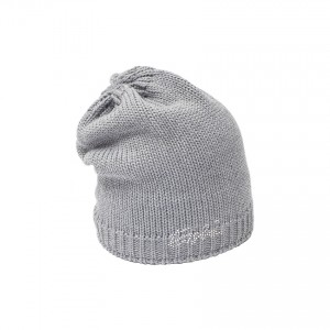 eisbar bonnet long lilly grey