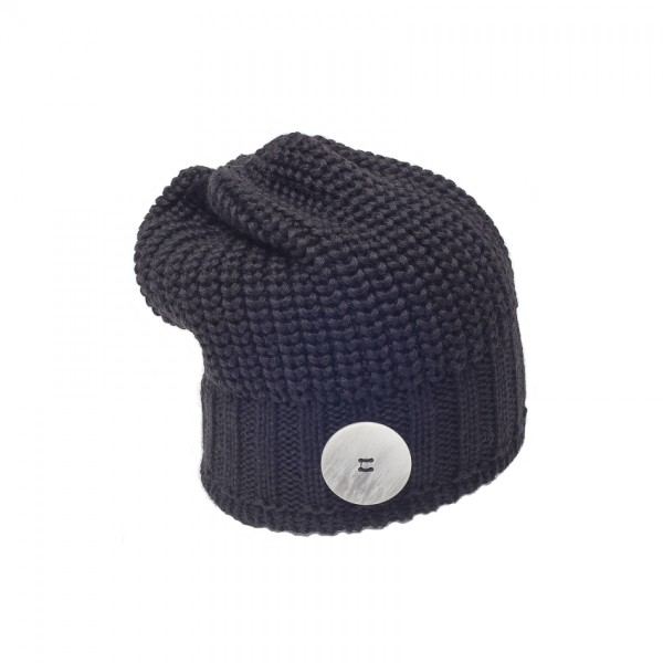eisbar bonnet long nino black