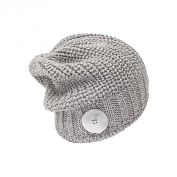 eisbar bonnet long nino grey