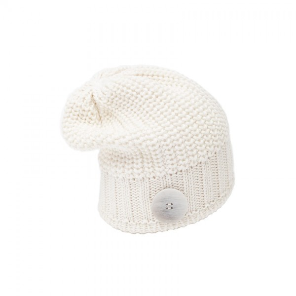 eisbar bonnet long nino white