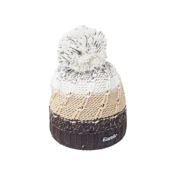 eisbar bonnet ski pompon jimmy marron