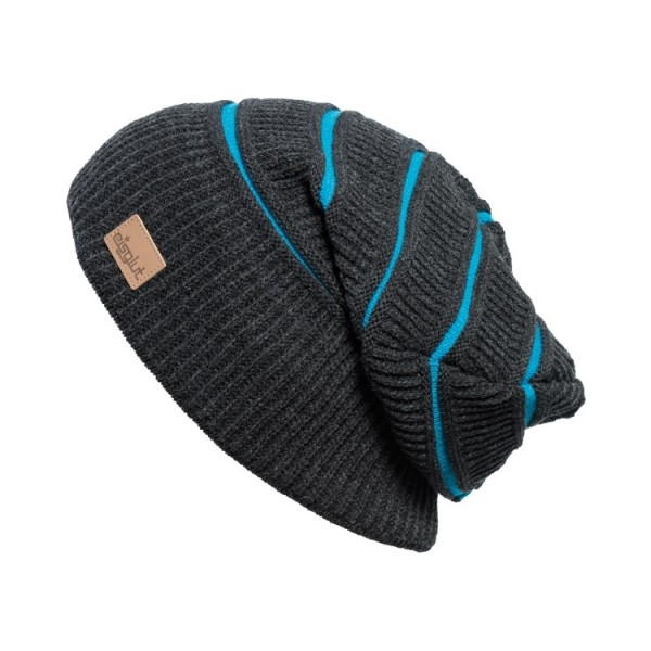 bonnet long oversize Eisglut mojo-anthracite