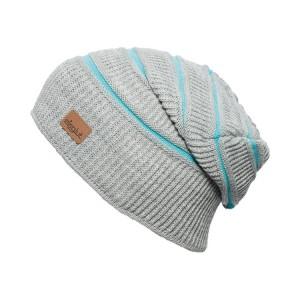 bonnet long oversize Eisglut mojo-gris clair