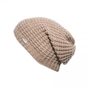 bonnet long oversize Eisglut taffy beige