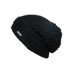 bonnet long oversize Eisglut taffy noir