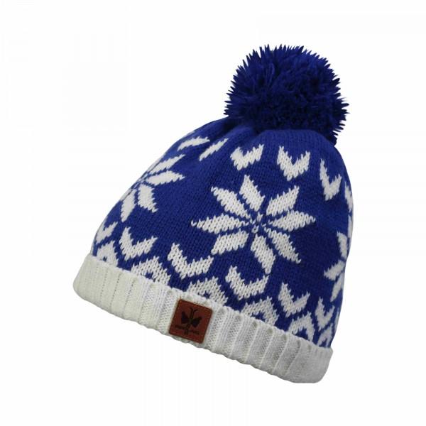 bonnet pompon montagne pipolaki 5872_hovden_010 bleu