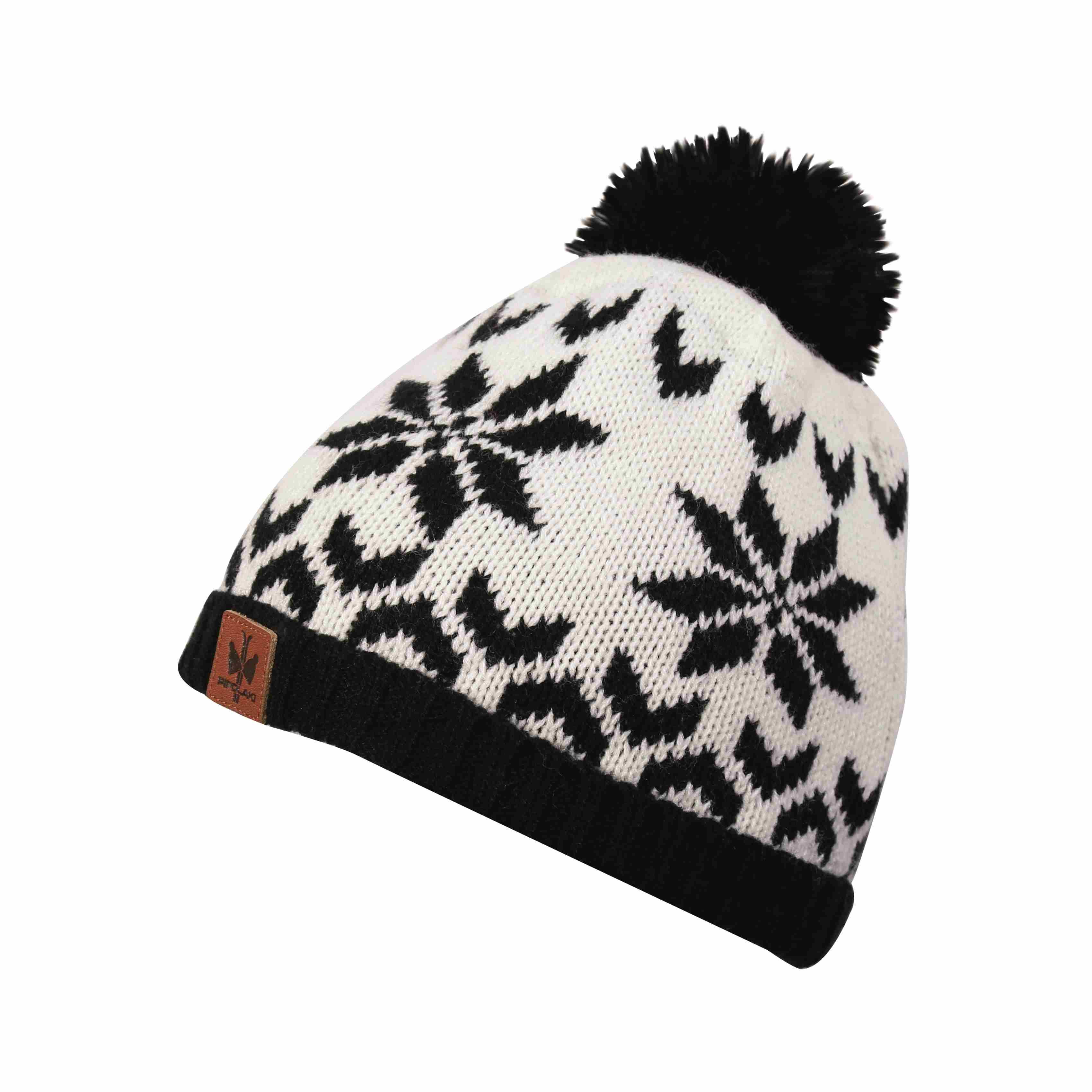 bonnet pompon hovden noir bonnet pipolaki blue melon. Black Bedroom Furniture Sets. Home Design Ideas