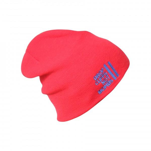 planks DROP616_Beanie_DCNB_red rouge bonnet drop cliff not bombs