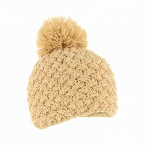 bonnet herman pompon ICE-8100 beige
