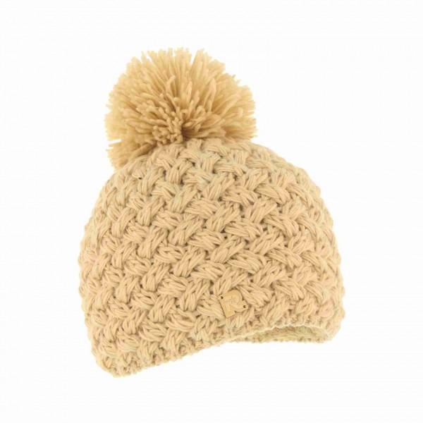 bonnet herman pompon ICE-8100 beige