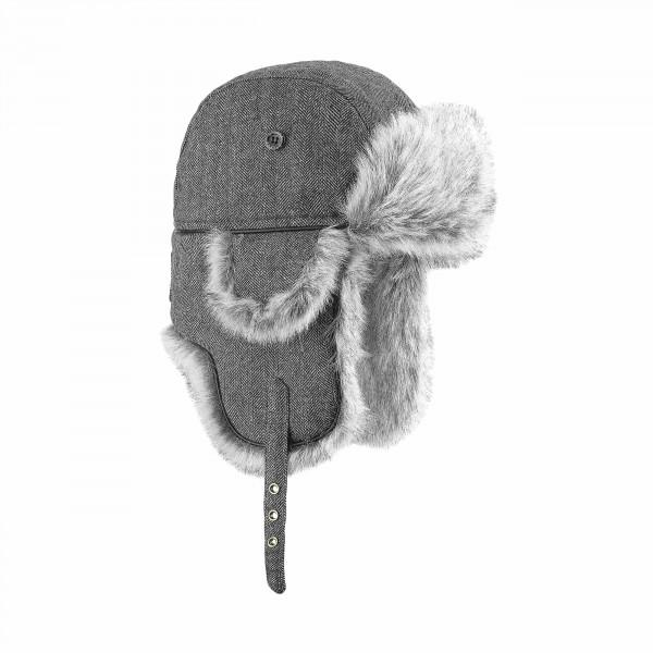 chapka wool eco russia noir BRF15F139_HBLK