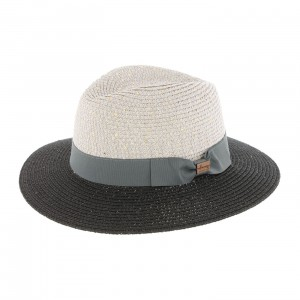 Chapeau Herman CHICK Brillant gris