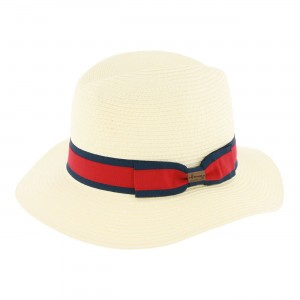Chapeau Herman GARRET rouge