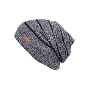 Bonnet long oversize Eisglut Mojo gris