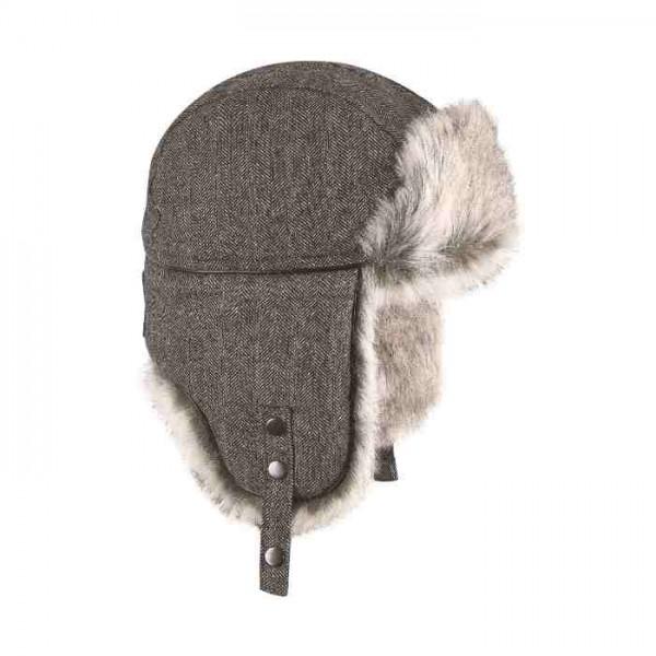 Chapka wool eco russia Brekka Noir BRF16F139 HBLK