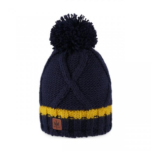 pipolaki bonnet pompon Satka Marine