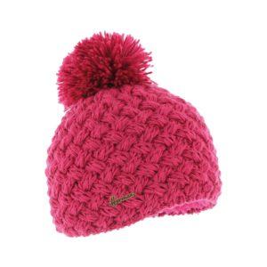 bonnet pompon Herman JUSTIN-8100-FRAMBOISE