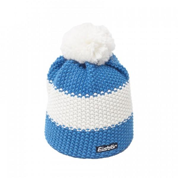 eisbar bonnet pompon star bleu