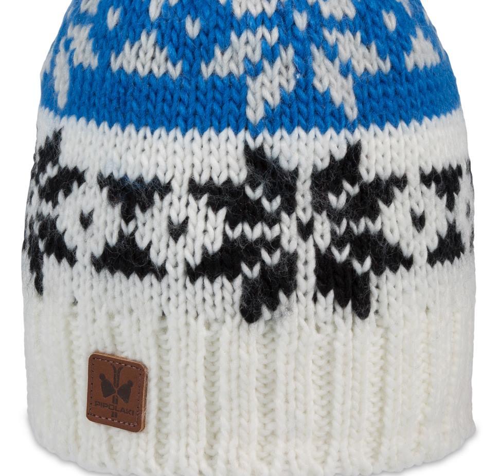 2add78c0c0a53 Blue Monto Pompon Beanie - Pipolaki Headwear