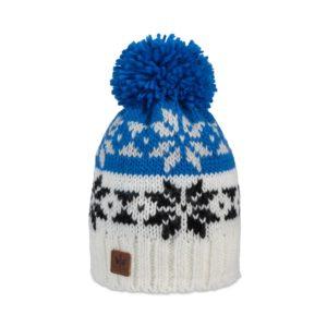 Pipolaki-Monto-Bonnet pompon-7038-025-Bleu-royal