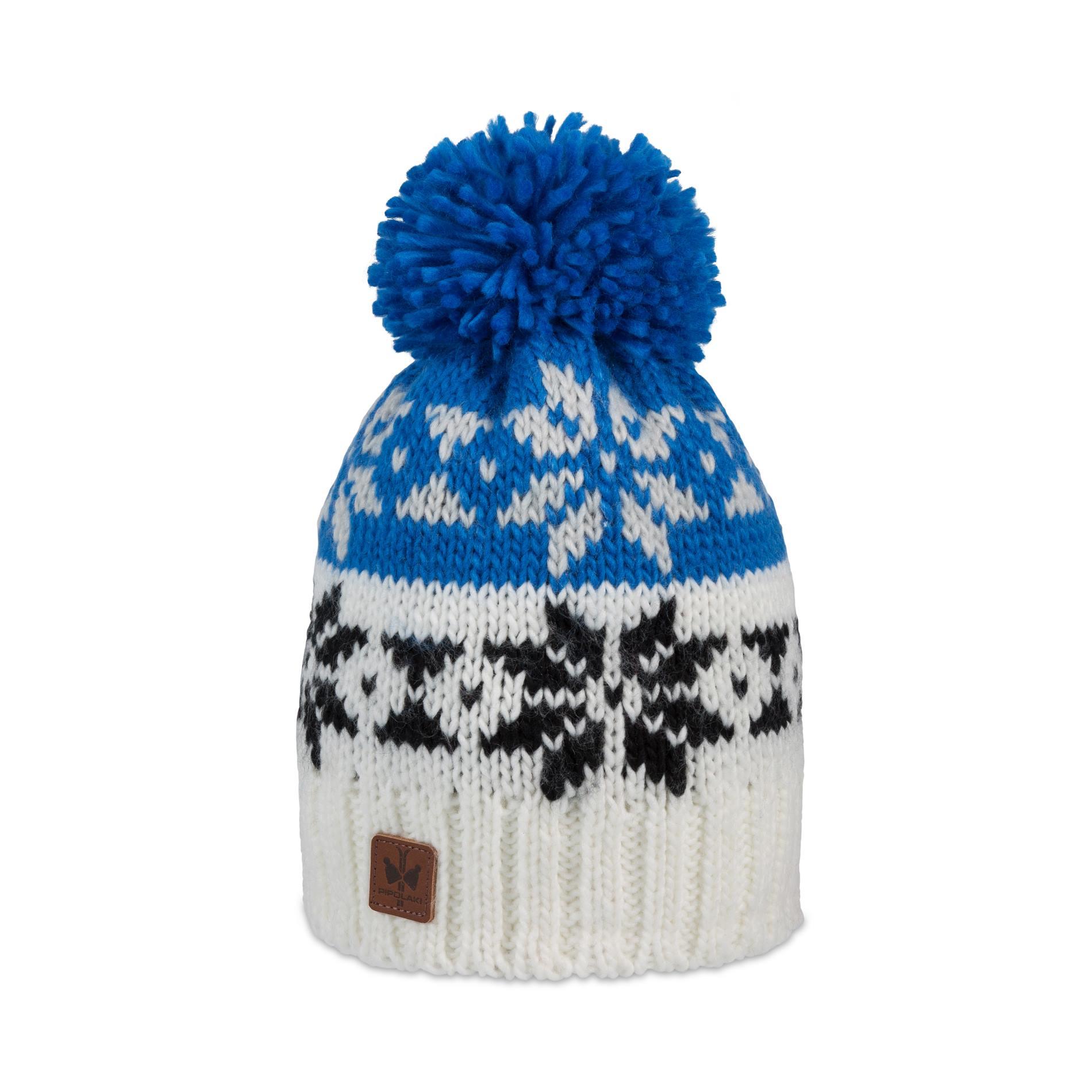 9534cf7e75d Pipolaki-Monto-Bonnet pompon-7038-025-Bleu-royal