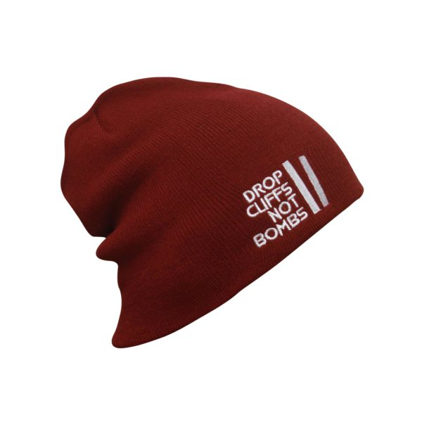 Drop Cliff Original Beanie AH-DROP808 Maroon