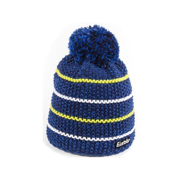bonnet Eisbar Marus Pompon 30066 bleu