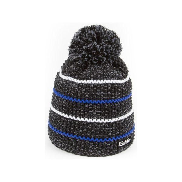 bonnet Eisbar Marus Pompon 30066 noir bleu