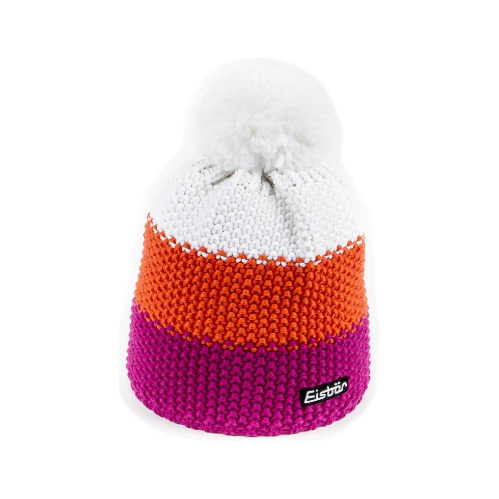 da0b35479cf Star Pompom Pink Orange Hat Eisbar - Ski Hat