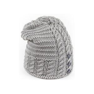 eisbar bonnet long Adena gris